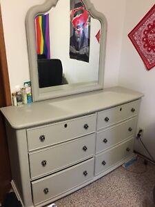 Slate grey dresser
