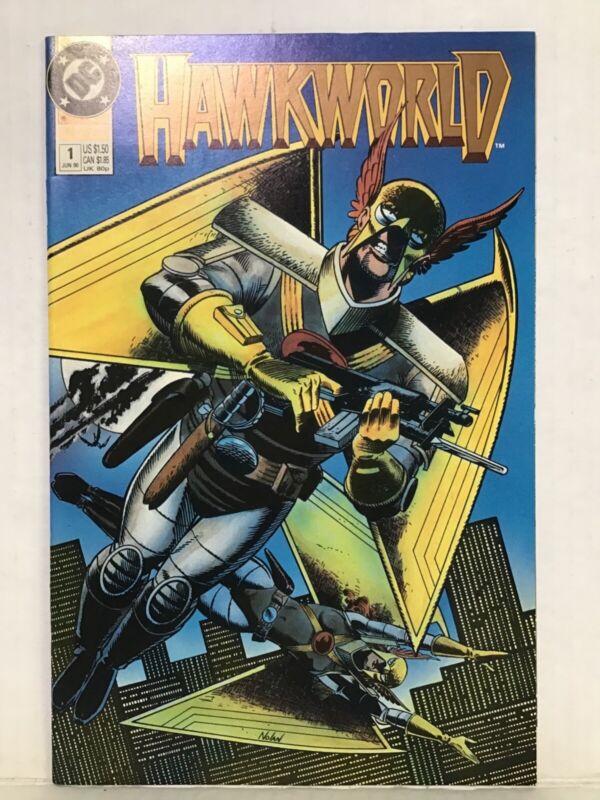 HAWKWORLD #1 June 1990 Copper Age DC Comics