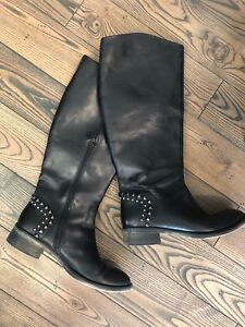 Leather boots Women's 38