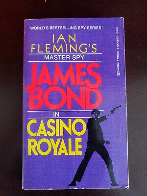 Ian Fleming Casino Royale James Bond Paperback Berkley 7th Print 1985 Good, Rare