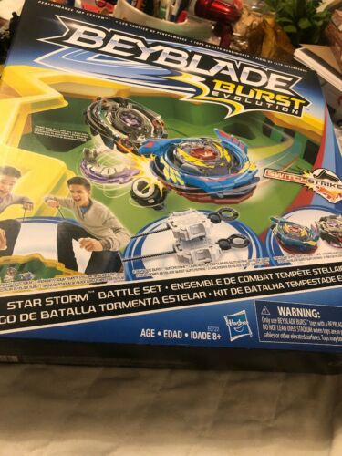 Beyblade Beystadium Burst Evolution Star Storm Battle Arena