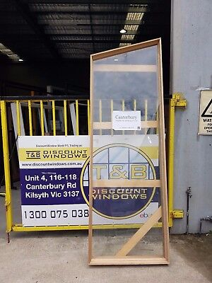 Timber Fixed Raked Window 2700H x 895W  (Item 3285)
