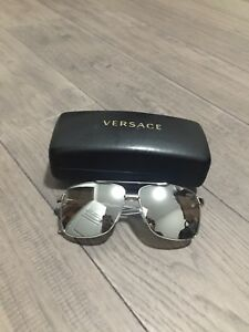 Men's Versace metallic sunglasses