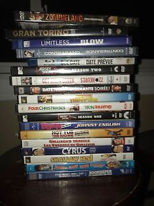 18 movies DVDs