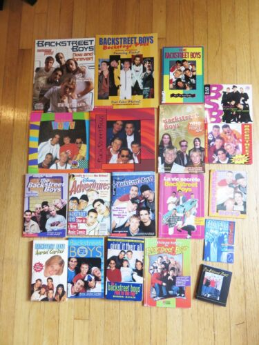 Backstreet Boys Assorted Small Books (Set of 19)