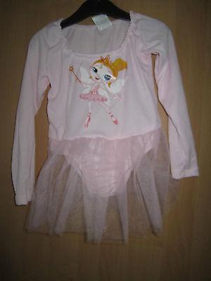 Ballerina - Kleid für Mädchen rosa * Kostüm Karneval Fasching Ballett Prinzessin