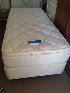 Long Single Bed and Mattress, good condition