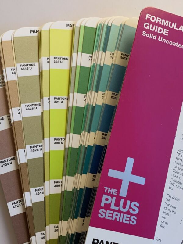 Pantone Plus Series Solid UnCoated Formula Guide 1,341 Color GP1301