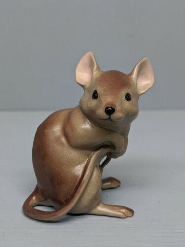 Old Hagen Renaker DW Brown Timothy Mouse