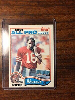 1982 Joe Montana #488 NM