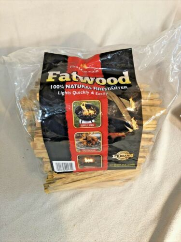 Fatwood 100% natural fire starter 10 LB