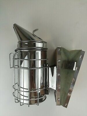Bee Hive Smoker Stainless Steel Beekeeping Equipments Beekeeper Tools