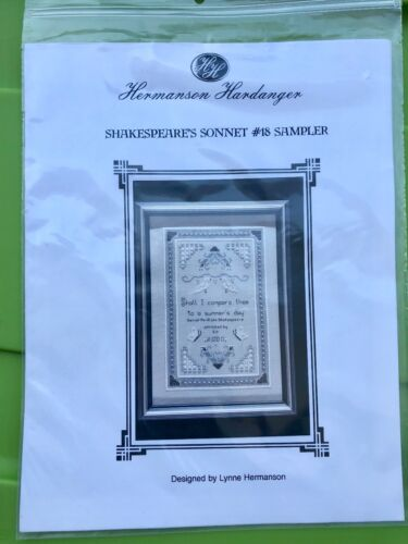 Hardanger Embroidery Pattern - Shakespeare