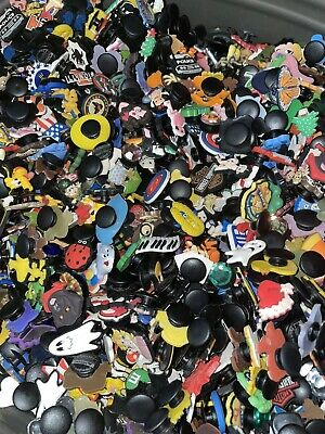 Lot Of 50 Random shoe Charms for Crocs shoe treasure chest, party favors, crafts