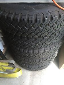 Landcruiser rims and tyres Muswellbrook Muswellbrook Area Preview