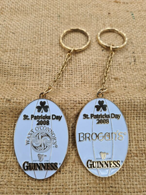 Rare Guinness Keychains  St. Patrick