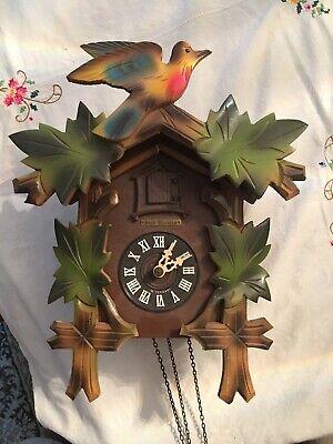 E. Schmeckenbecher Cuckoo Clock Needs Weights