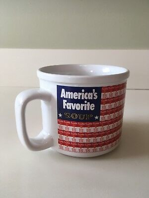 Campbell's Soup Coffee Mug Cup America's Favorite Chicken Noodle 1998