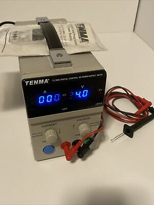 Tenma 72-2690 Calibrated Dc Laboratory Power Supply 30v 5a