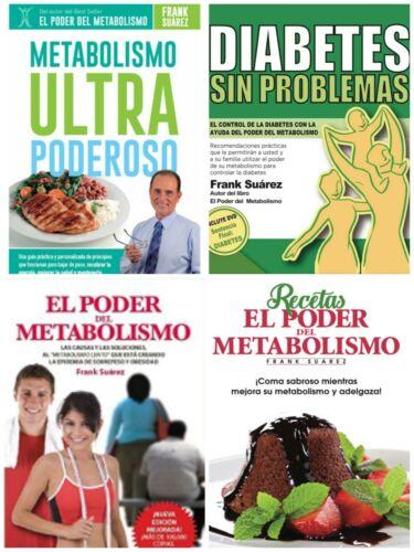 Libros Frank Suarez Recetas, El Poder, Diabetes, Metabolismo Ulta LIBRO DIGITAL