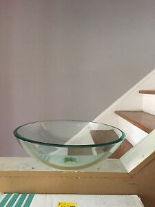 Glass Sink Basin