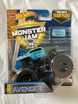 Hot Wheels Monster Jam AVENGER 57 CHEVY World Finals Junkyard Body