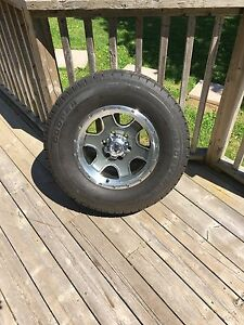 Rims and tires  265/70/16. 6bolt pattern