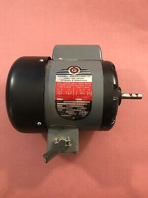 Delta Rockwell 14 Bandsaw Motor 12 Hp 1725 Rpm Wood Band Saw 28-380