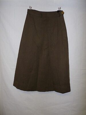 WAC-6 WW 2 US WAAC Woman Army Corp OD skirt W-24,L-29,H-38 PBT for sale  Springfield