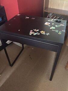 Two IKEA children's desks
