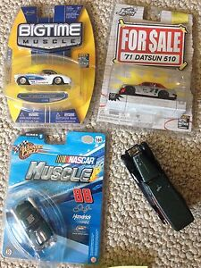 Diecast cars in package, 1 loose