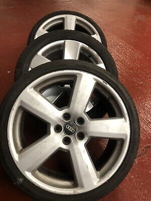 audi alloy wheels and tyres used