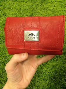Roots Red Wallet Unisex - Used