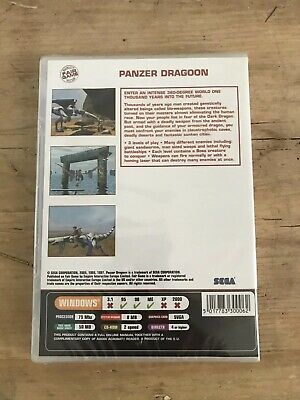 Panzer Dragon For PC New And Sealed