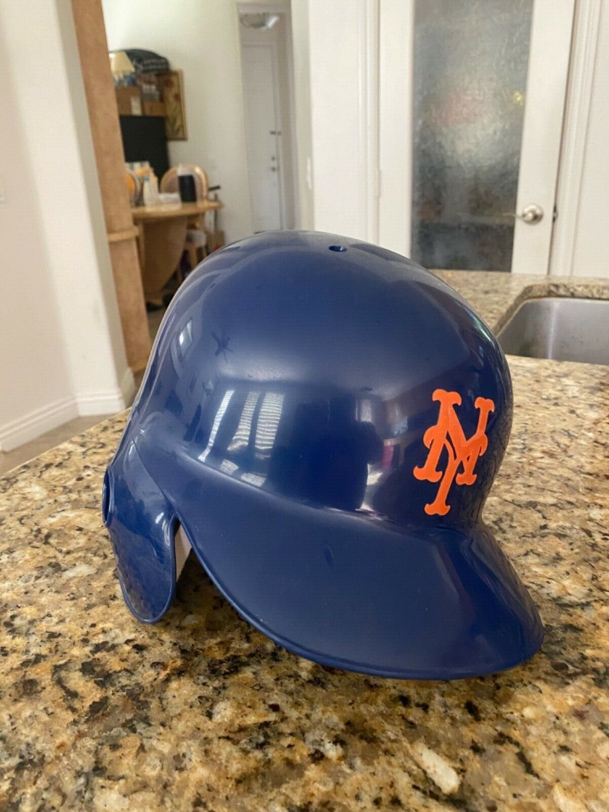 Official Rawlings New York Mets Lefty Batting Helmet size 7