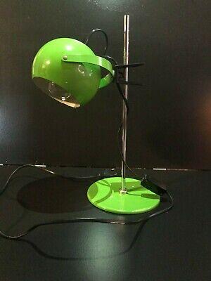 "Lampe de bureau ""Eyeball"", Vintage, verte-pomme"