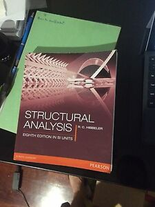Structural Analysis 8th Edition In SI Units Beaconsfield Cardinia Area Preview