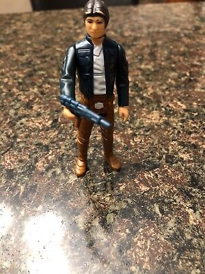 Stars Wars Hans Solo Bespin 1980 With Blaster / Used Condition
