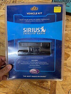 New sealed Sirius Satellite Radio SUPV1 Vehicle Kit Complete