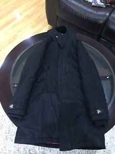 TNA long black winter jacket