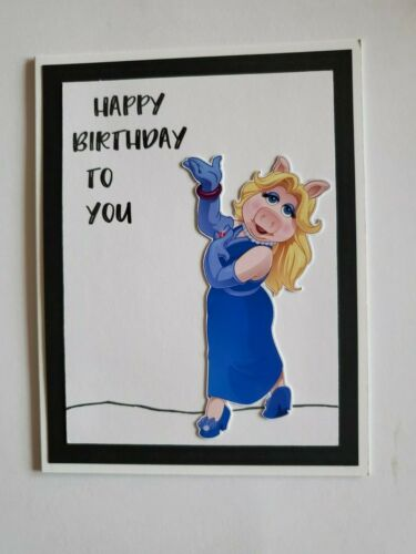 MISS PIGGY HAPPY BIRTHDAY GREETING CARD