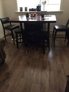 Table set $200 firm sell by Saturday