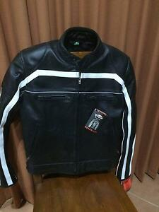 Leather Motor bike Jacket Brand New Kangaroo Flat Bendigo City Preview
