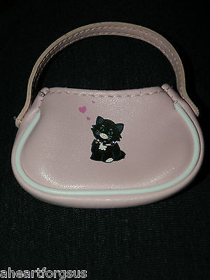 American Girl Doll's PINK PURSE LICORICE CAT BEST FRIEND fr Retired Play Outfit  - Best Cat Outfits