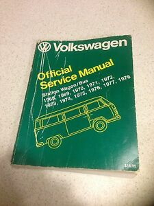 VW Kombi Ute Bus Official Service Manual Peregian Beach Noosa Area Preview