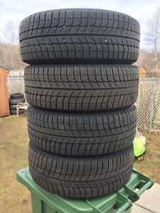 p205/55/16 inch Michelin Tires on Nissan Steel Rims / LOTS OF TR