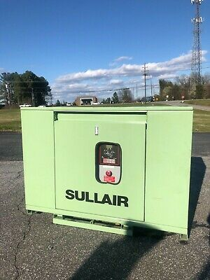 Used 25 Hp Sullair Rotary Compressor