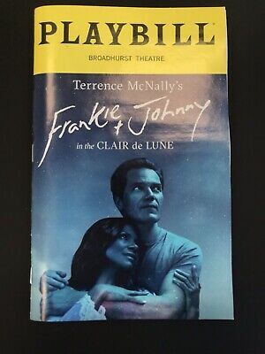 Frankie And Johnny In The Clair De Lune Playbill Broadhurst Michael Shannon (Frankie & Johnny In The Clair De Lune)