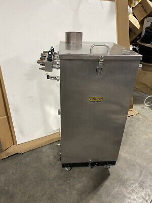 Wagner Powder Coating Fluidizing Hopper 100lb W Optional Pumps - Refurbished