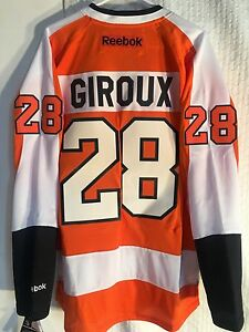 653b6a62 Reebok Replica NHL Jersey Philadelphia Flyers Claude Giroux Orange sz M